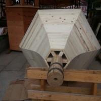 teařské kontrukce - sanktusová věž kostela Petrovice