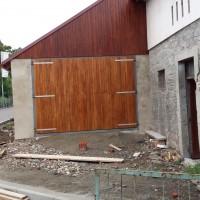 dubová vrata