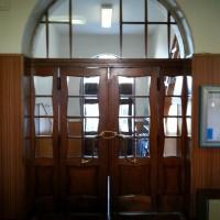 dveře škola Děčín