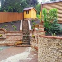 terénní úpravy, terasy, opěrné zdi