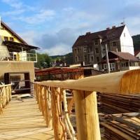 výroba mostu do zámecké zahrady Veltrusy
